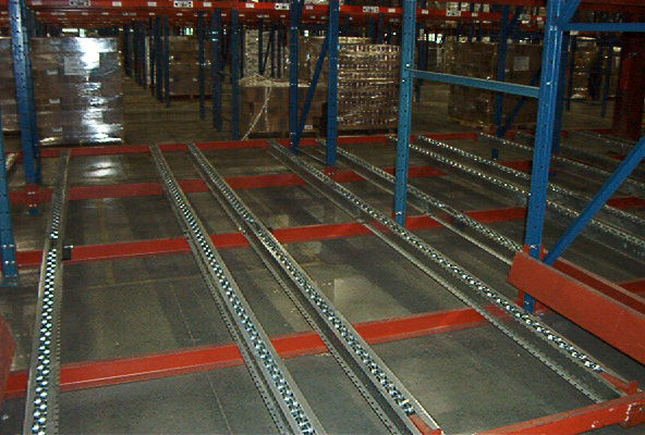 Selective Rack Supported Warehouse
